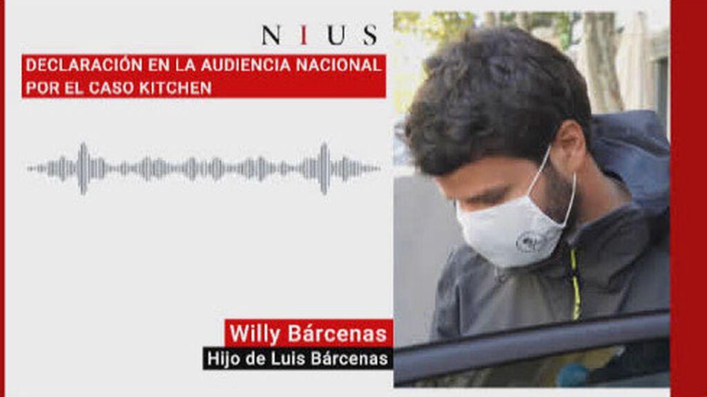 Audios Kitchen: Willy Bárcenas ante el juez