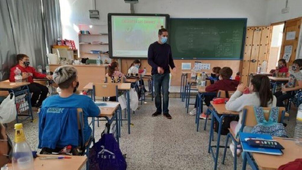 Calendario del curso escolar 2021-2022 en Málaga