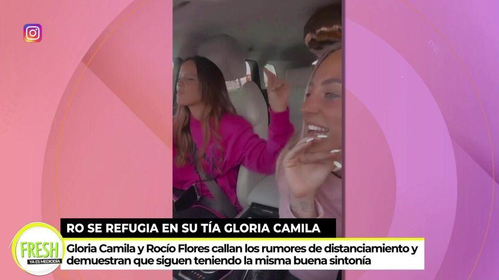 Gloria Camila y Rocío Flores se divierten juntas