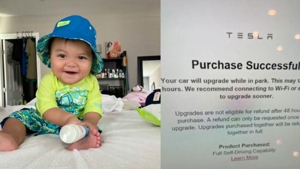 Un bebé compra sin querer con el iPad de su madre una actualización de 8.400 euros para el coche