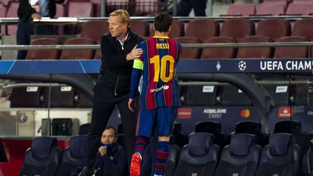 """Koeman, sobre la renovación de Messi: """"Creo que se podrá hacer"""""""
