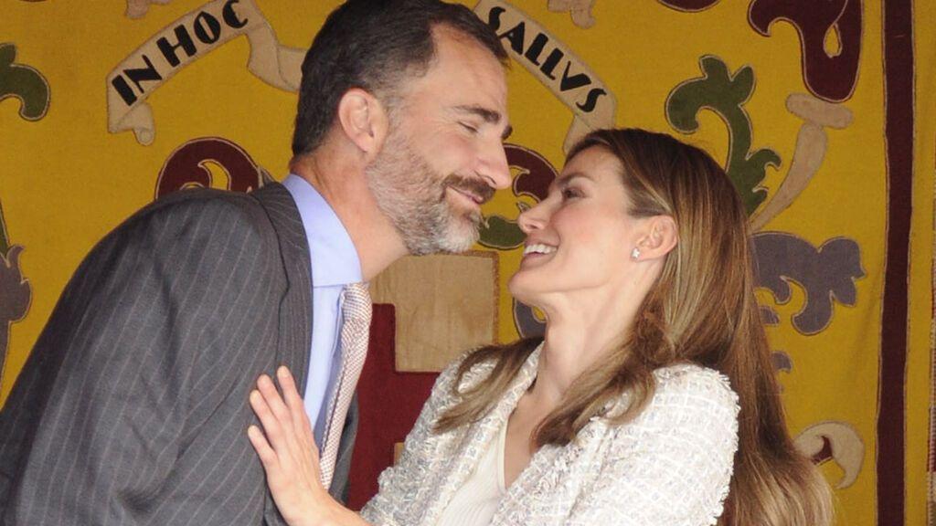Felipe y Letizia, en una imagen de 2012