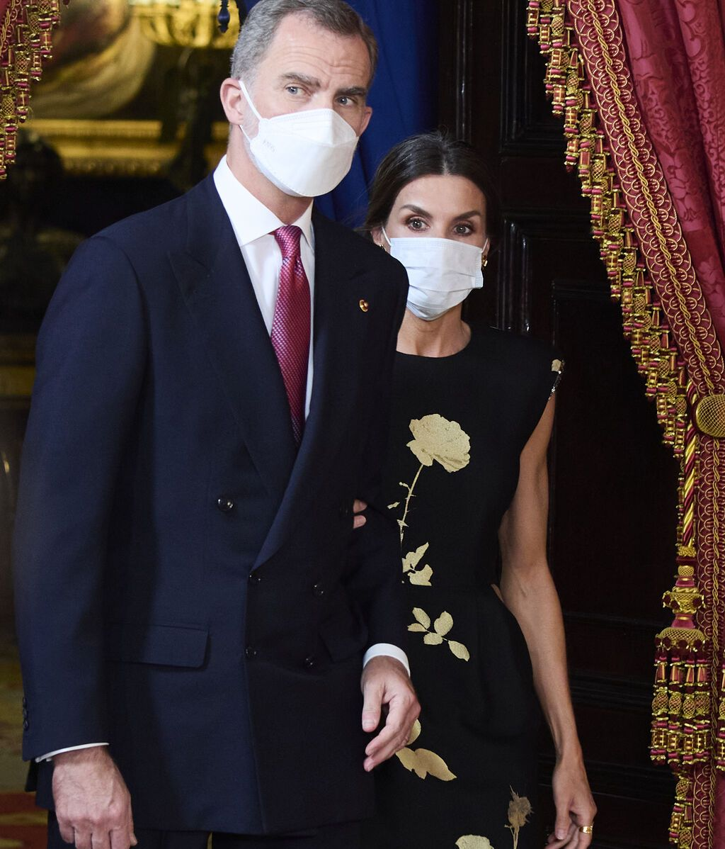 Felipe y Letizia, en la cena de Estado en honor a Corea del Sur