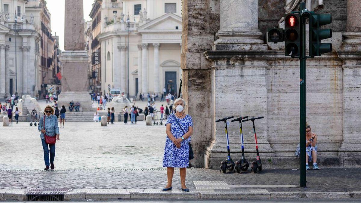 Italia y Grecia, los únicos países europeos en mantener la mascarilla obligatoria en la calle
