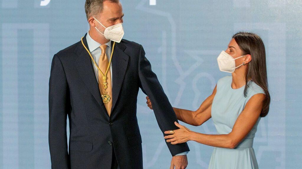 Felipe y Letizia, en la entrega de la Medalla de Honor de Andalucía