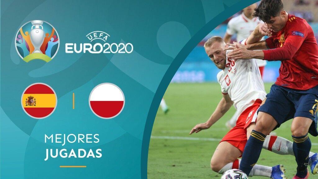 Resumen España - Polonia