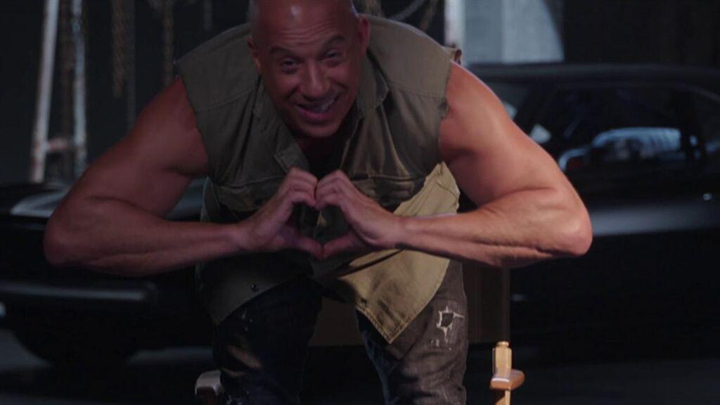 Vin Diesel, feliz de compartir 'Fast and Furious 9', que será la antepenúltima de la saga