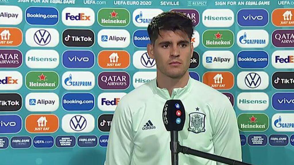 """Álvaro Morata, sobre las críticas: """"Que digan lo que quieran, opinar es gratis"""""""