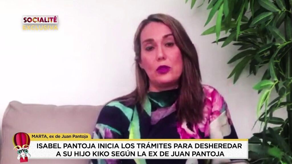 Habla Marta, la ex de Juan Pantoja