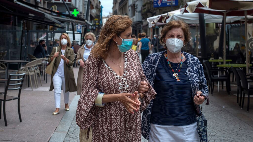 Última hora del coronavirus: las comunidades, divididas de nuevo por el fin de las mascarillas en exteriores