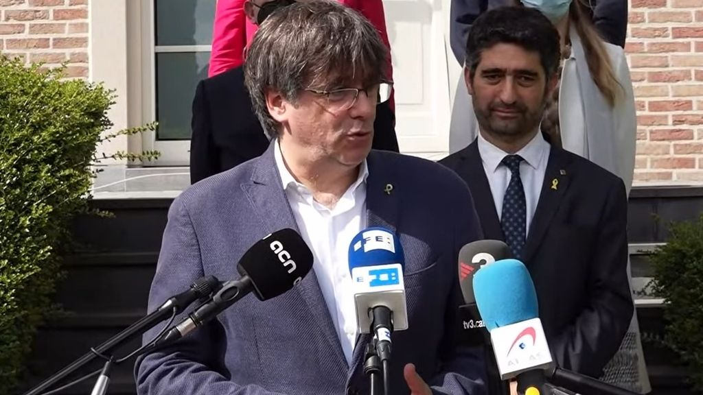 """Puigdemont dice que si Sánchez no concediera los indultos serían """"decisión de la justicia europea"""""""