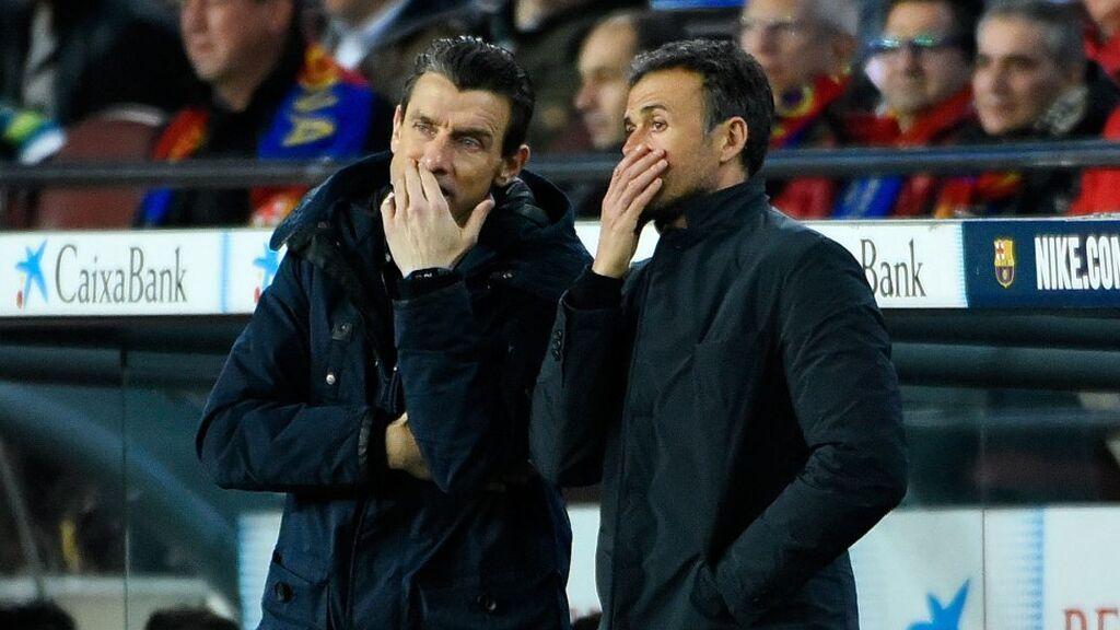 """Unzué sigue confiando y defendiendo a Luis Enrique: """" Seguro que Luis ya está pensando cómo mejorar después de estos dos partidos"""""""