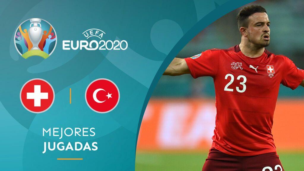 Shaquiri elimina a Turquía con un doblete: Suiza queda tercera y tendrá que esperar (3-1)
