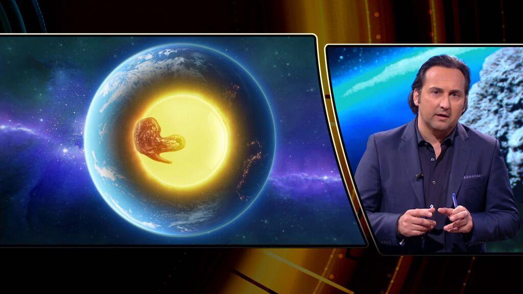 """""""Dos enormes placas de hierro llegadas de otro planeta"""