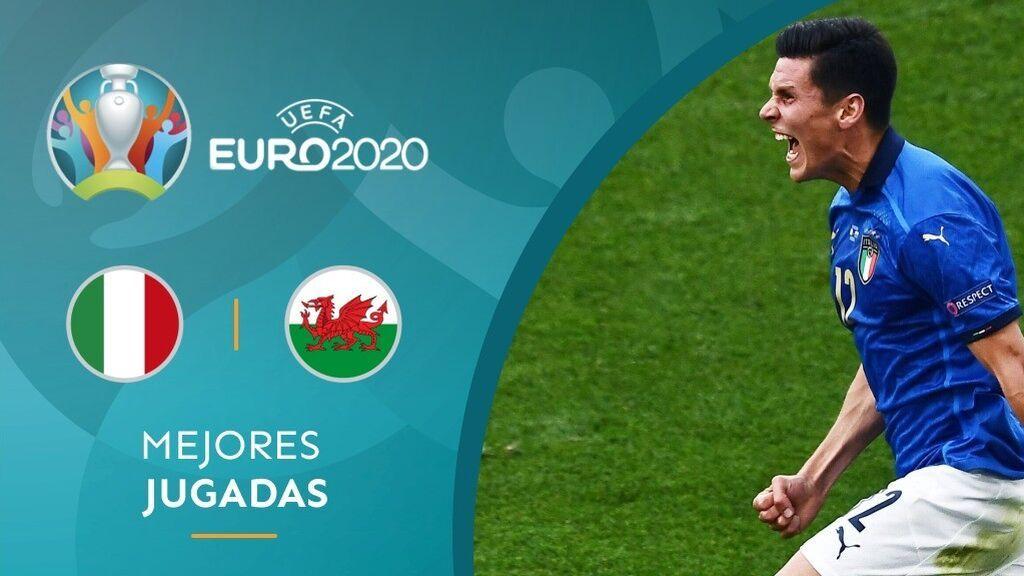 Italia gana a Gales (1-0) y las dos se clasifican para los octavos de la Eurocopa