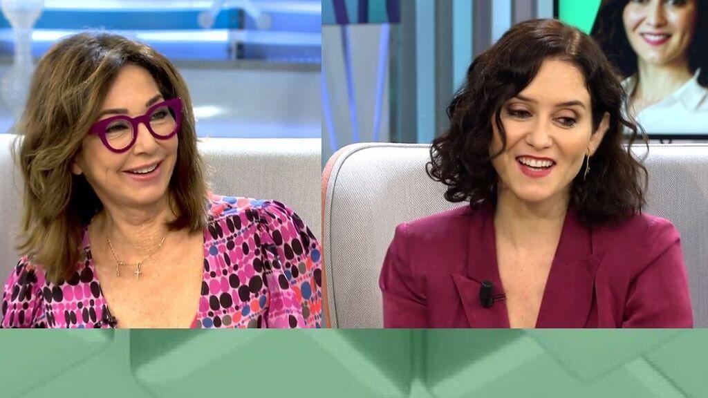 Ana Rosa deja sin palabras a Ayuso: ¡le pide que sea madre en directo!