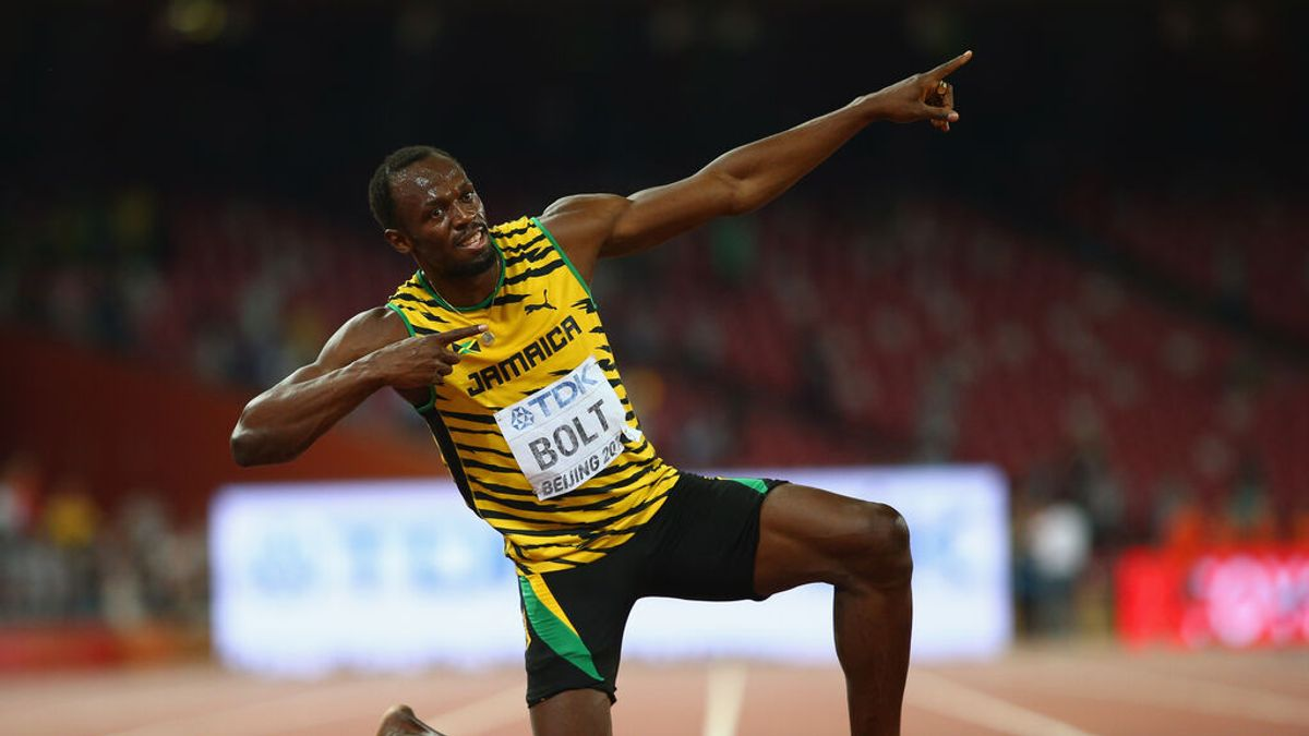 Usain Bolt presenta el Día del Padre a Saint Leo y Thunder, sus nuevos hijos gemelos