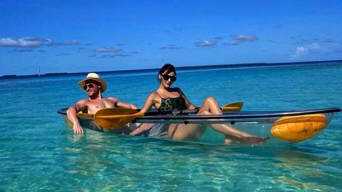 Hande Erçel y Kerem Bürsin de vacaciones en Maldivas