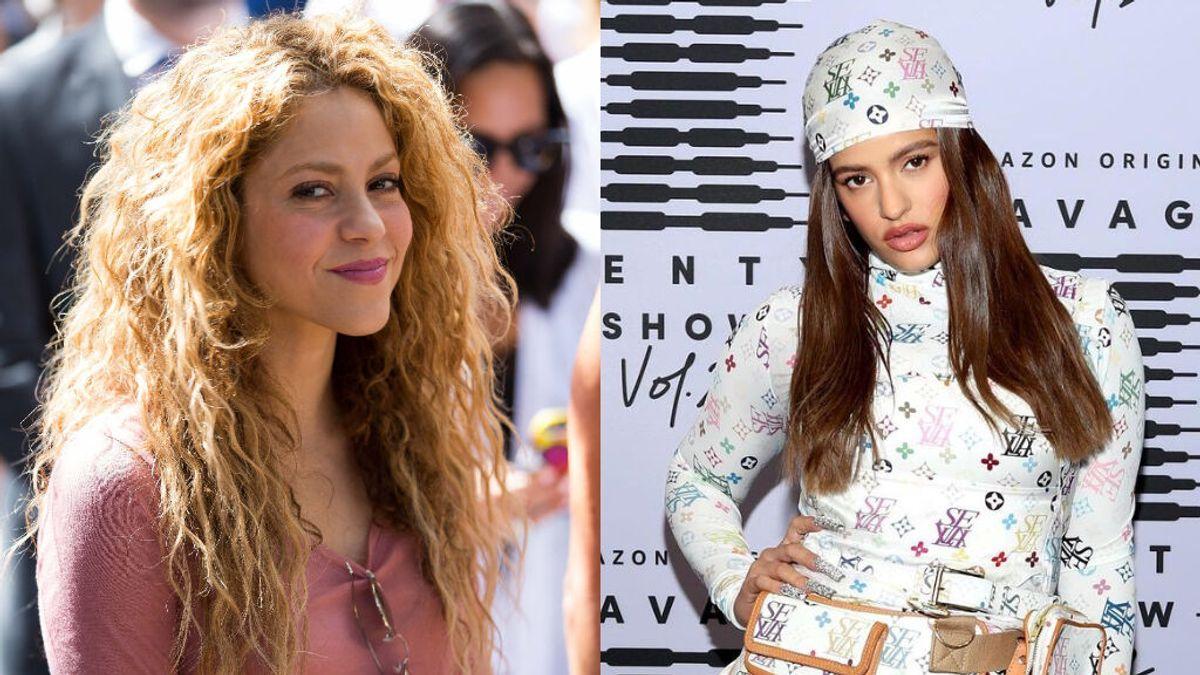 Las pistas de la posible colaboración entre Shakira y Rosalía: ¿por qué piensan los fans que van a sacar una canción juntas?