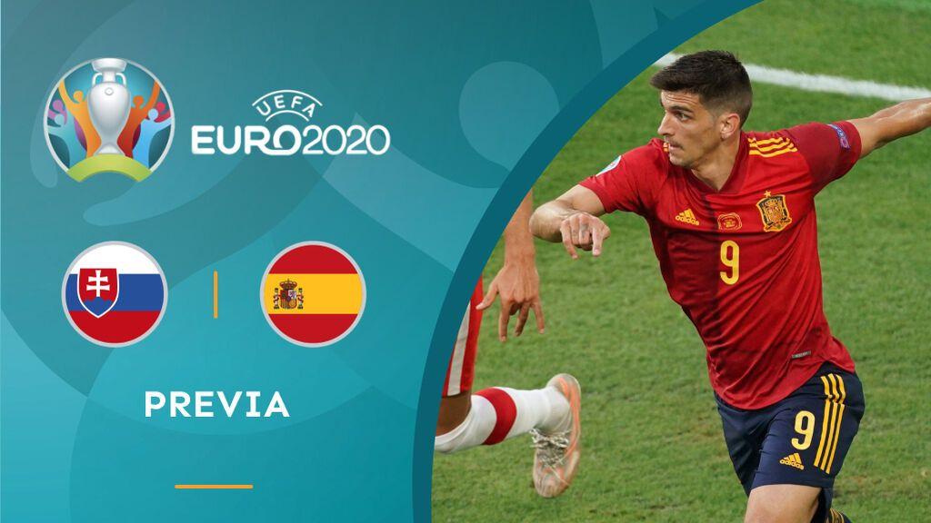 Previa Eslovaquia - España Eurocopa 2020