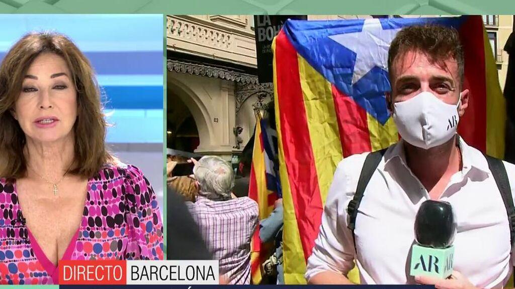 """Ana Rosa reacciona ante los gritos de """"manipuladora"""": """"Para eso está el derecho a la libertad de expresión"""""""