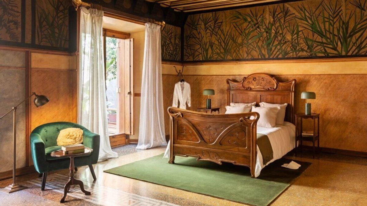 Dormitorio casa Gaudí