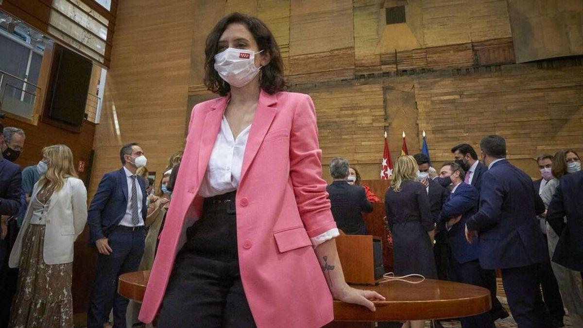 En directo: Isabel Díaz Ayuso toma posesión del cargo de presidenta de la Comunidad de Madrid
