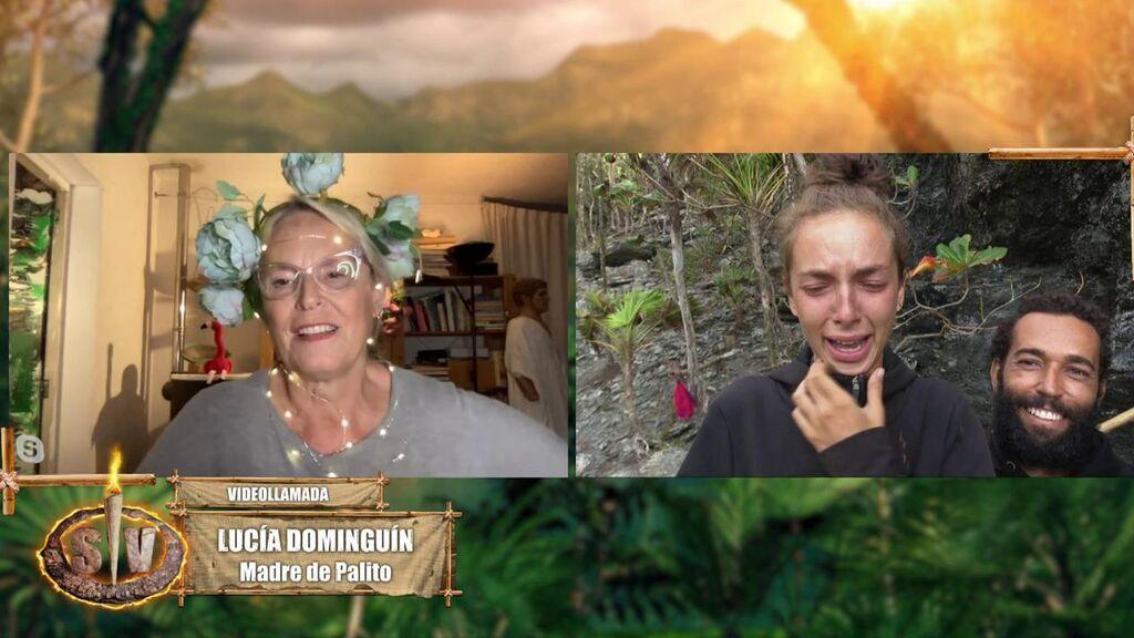 Palito Dominguín habla con Lucía Dominguín