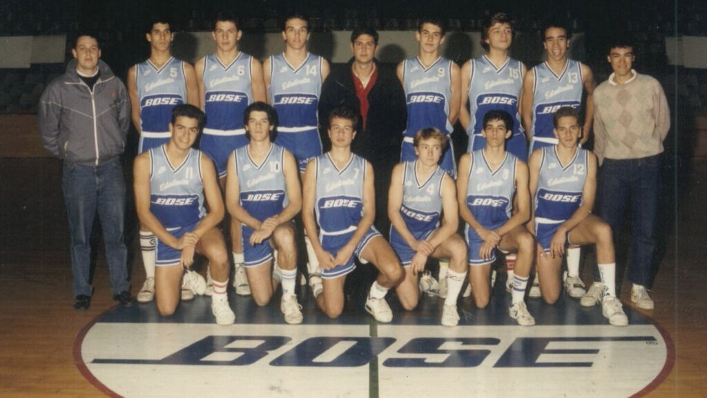 Pedro Sánchez en el Club de Baloncesto Estudiantes