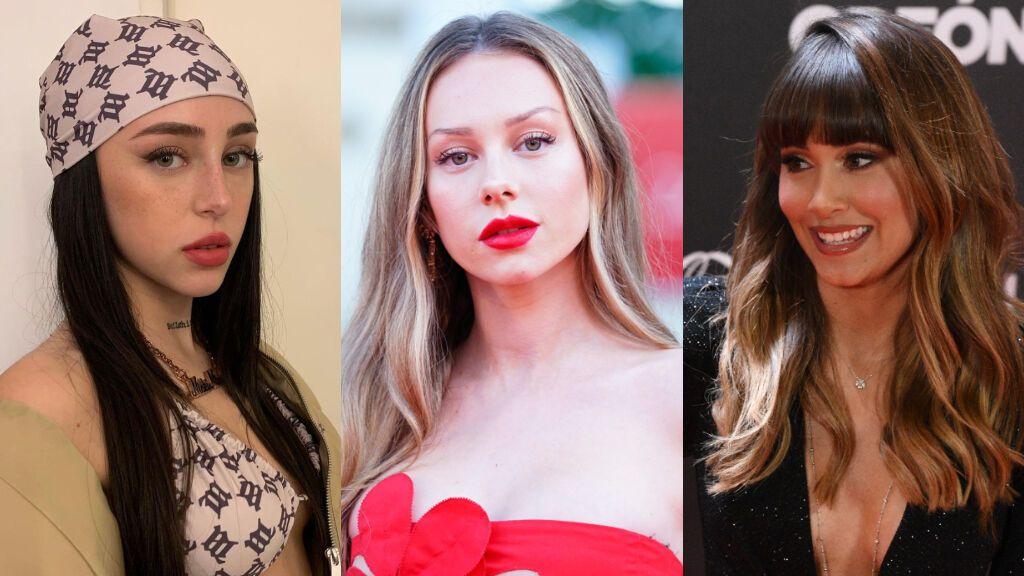 """Aitana Ocaña, Ester Expósito y Nicki Nicole salen juntas por Madrid y los fans alucinan: """"Vaya diosas"""""""