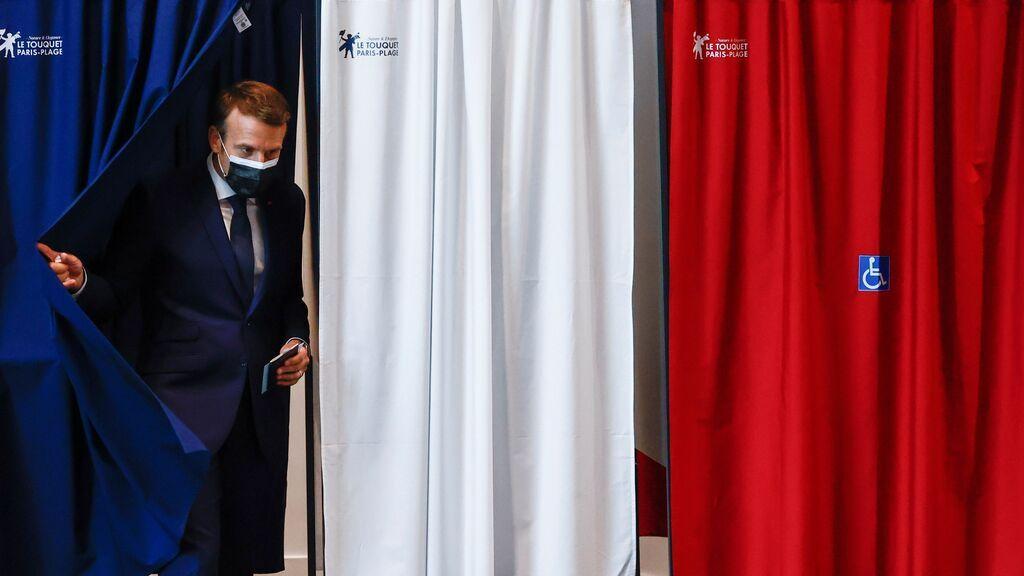 Revés para Macron y Le Pen en las elecciones regionales en Francia