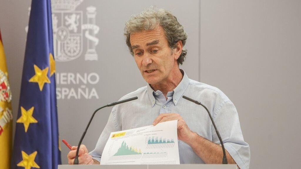 En directo: Fernando Simón actualiza los datos de la pandemia en España