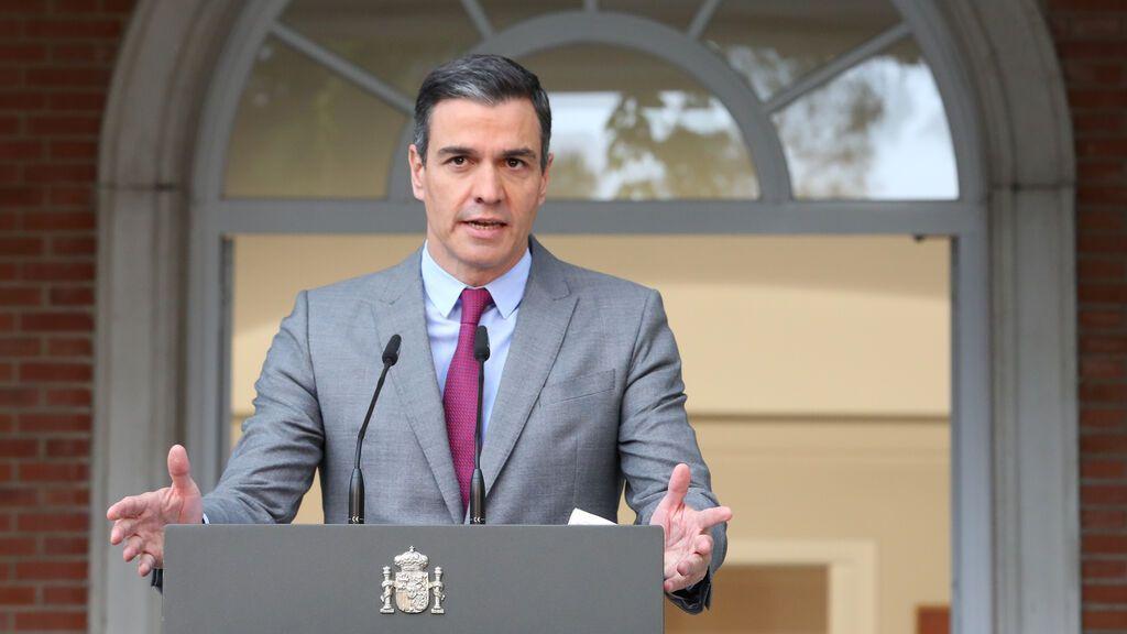 """Pedro Sánchez: """"La democracia española demuestra su grandeza"""""""