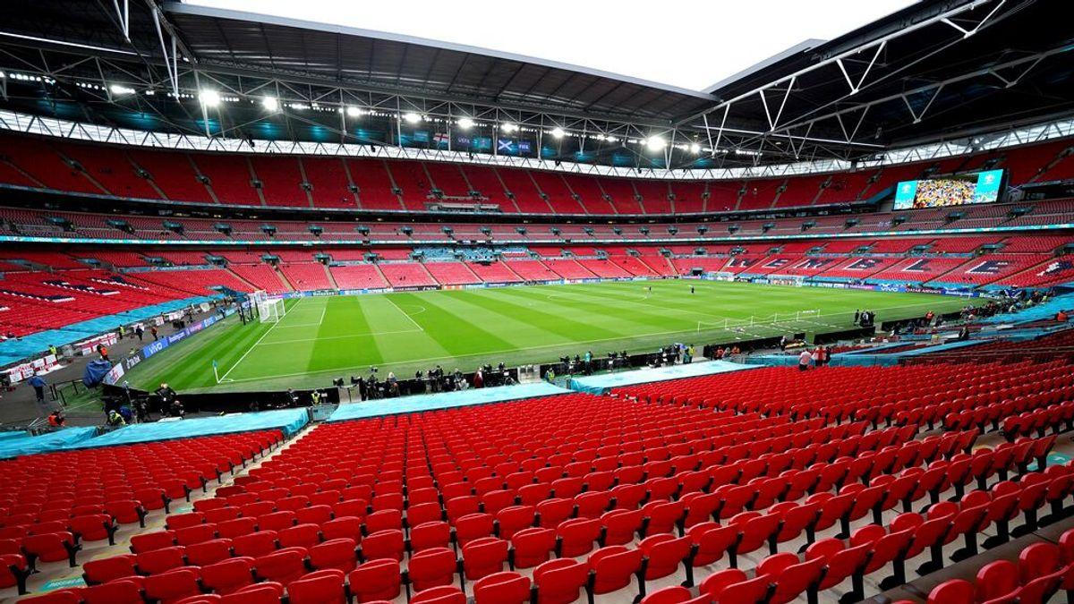 Wembley acogerá 60.000 espectadores en las seminales y la final de la Eurocopa
