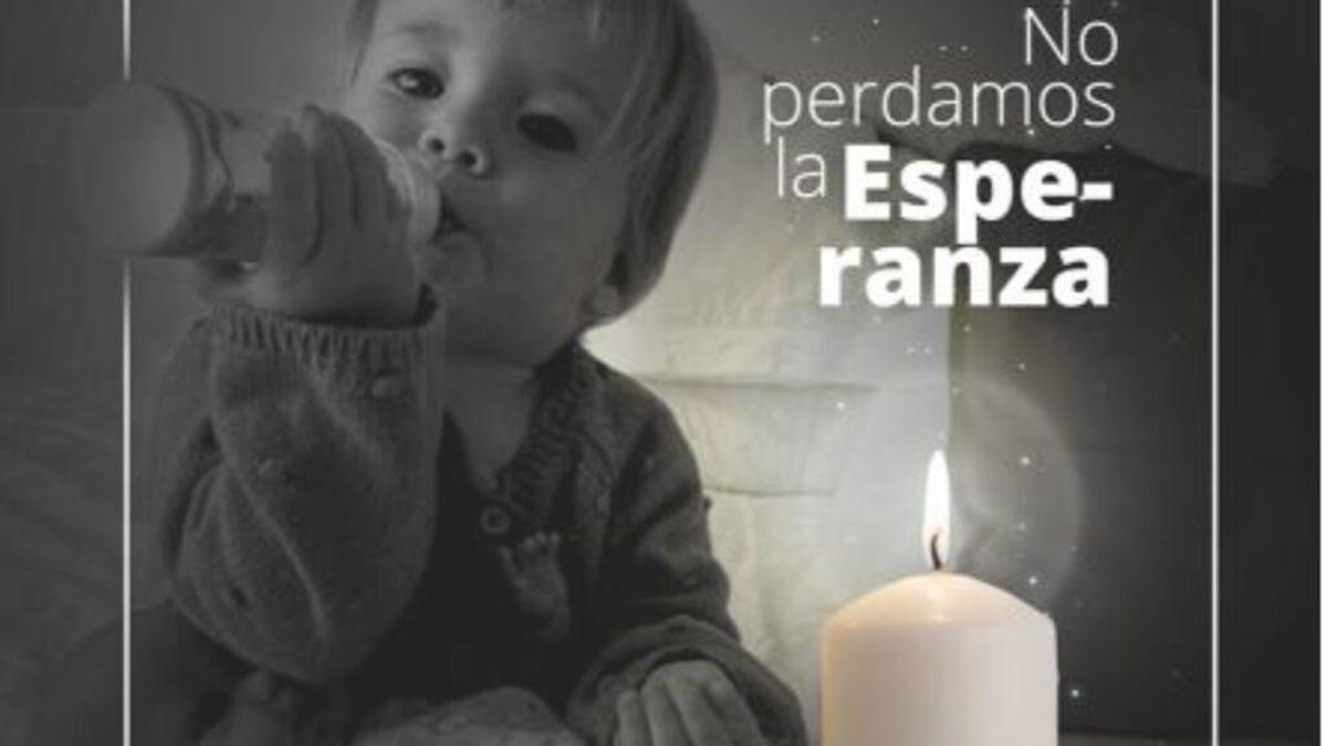Beatriz pide que las redes se inunden de velas blancas para que aparezcan los cuerpos de Tomás Gimeno y Anna