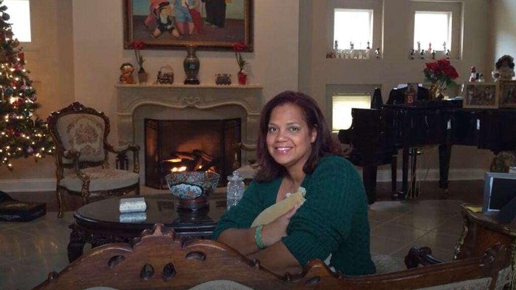 Ronna Keith, en su casa de Jacksonville (Florida)