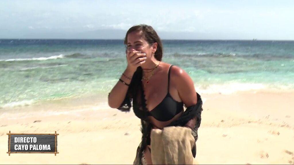 Anabel Pantoja llora al regresar a Cayo Paloma y desvela de qué se arrepiente