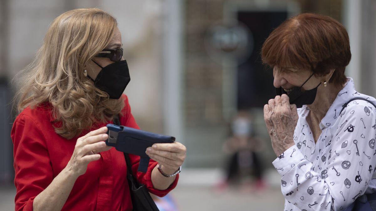 fin del uso de mascarillas exteriores