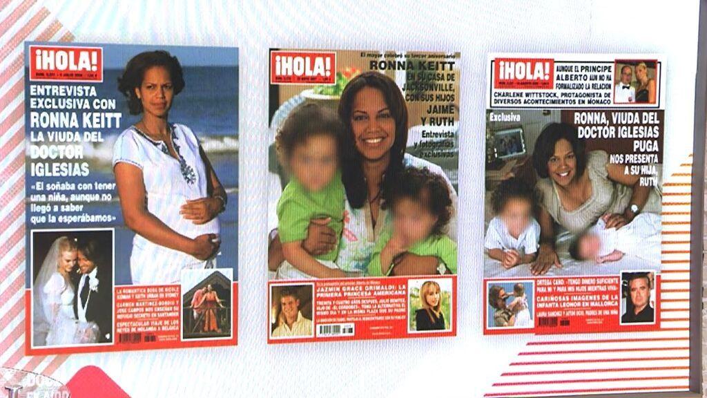 Portadas de Ronna Keith tras la muerte del Dr. Iglesias Puga