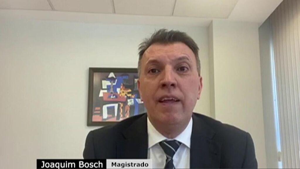 El magistrado Joaquim Bosch despeja las dudas sobre los indultos: ¿Podrán volver los presos independentistas a la política?