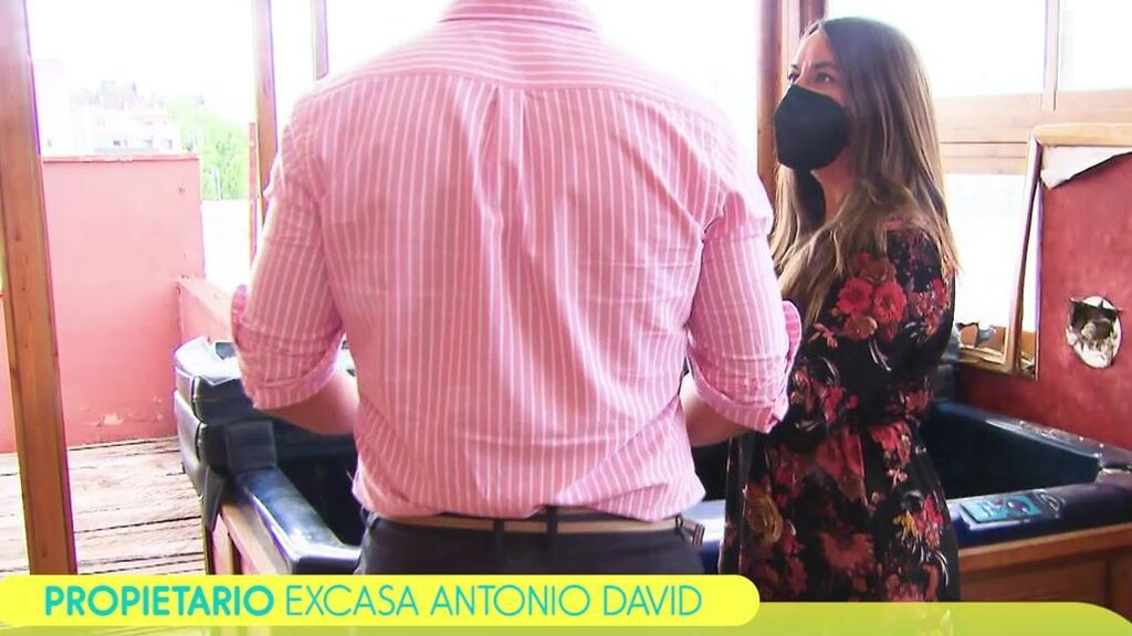 """El propietario de la antigua casa de Antonio David: """"No había ni interruptores, parecía que había habido okupas"""""""