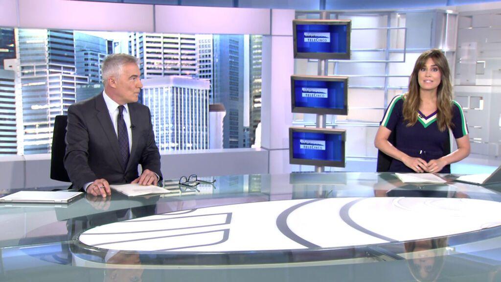 Con David Cantero e Isabel Jiménez Informativos 2021 Telecinco Mediodía 22/06/2021