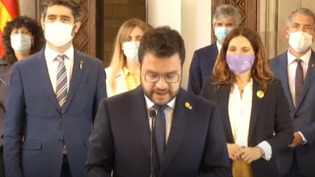 Aragonés tiene claro el objetivo: referéndum pactado