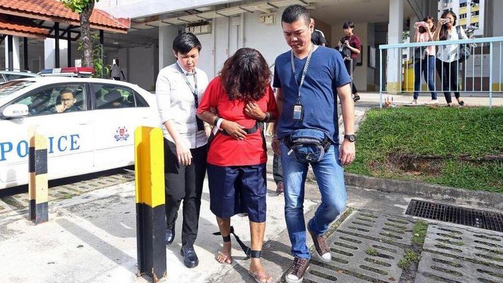 Condenada a 30 años de cárcel por torturar hasta la muerte a su empleada doméstica en Singapur