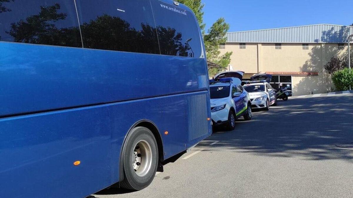La policía denuncia a un conductor de transporte escolar por triplicar la tasa de alcoholemia