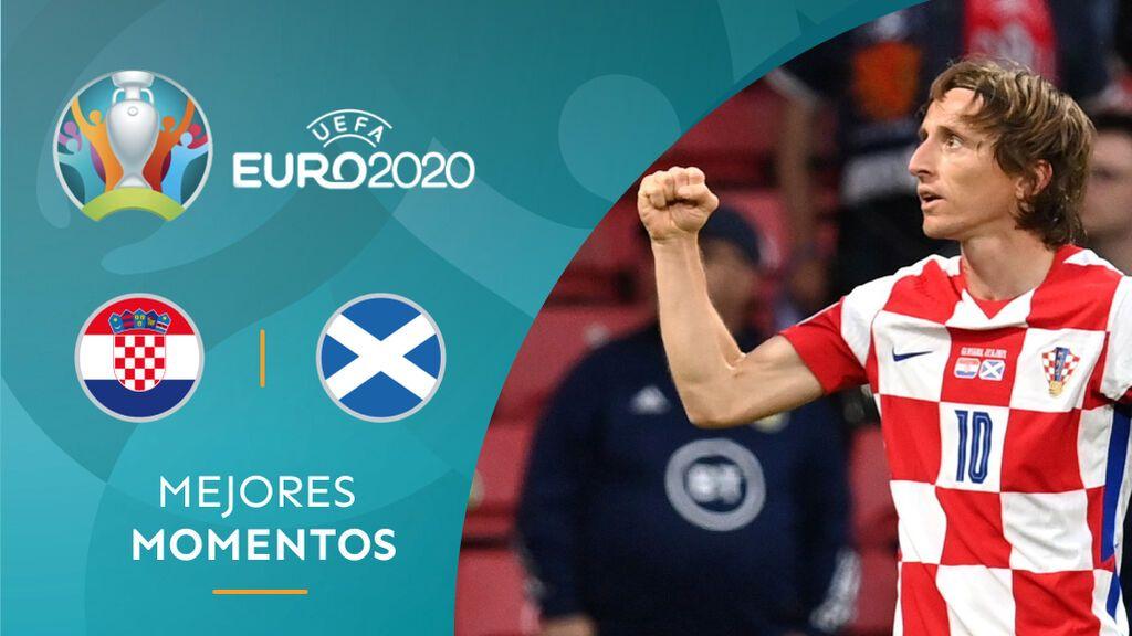 Modric hace magia: Gol y asistencia para clasificar a Croacia a octavos de final (3-1)