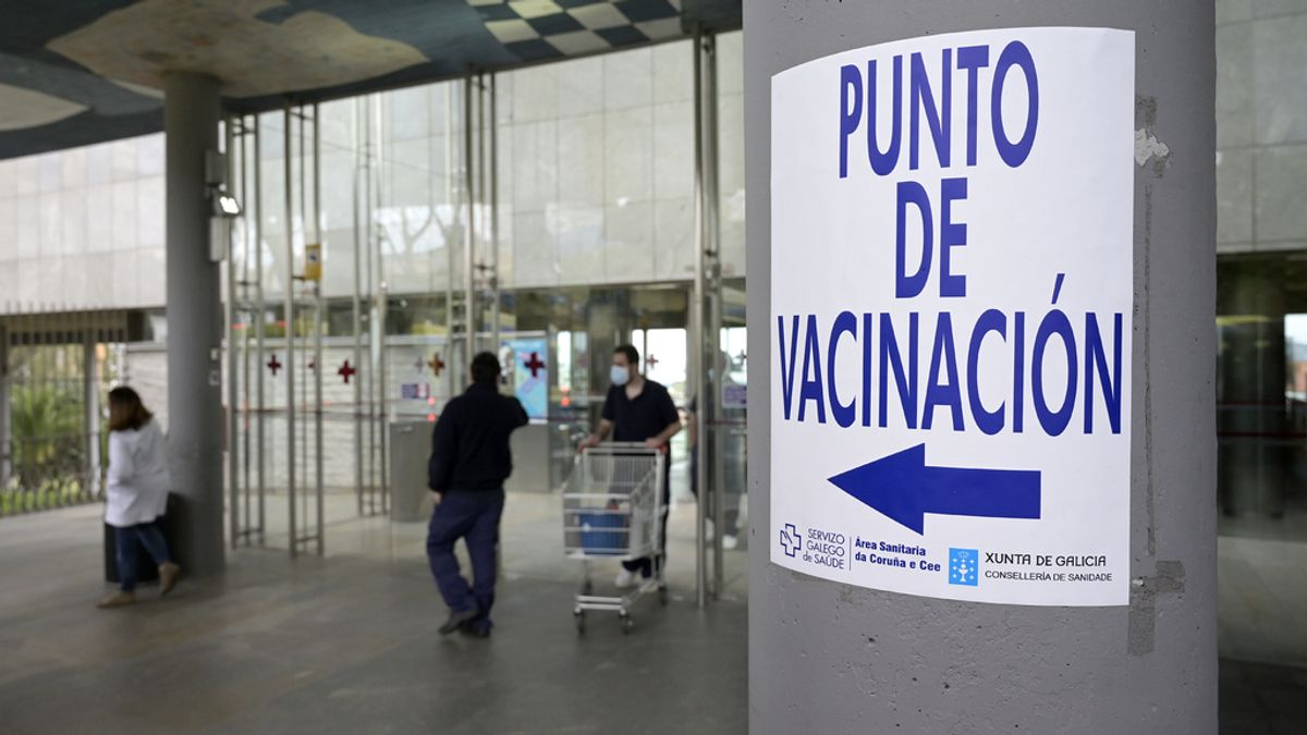 Galicia avanza en la vacunación de las personas de 40 a 49 años con más del 61,5% con al menos una dosis