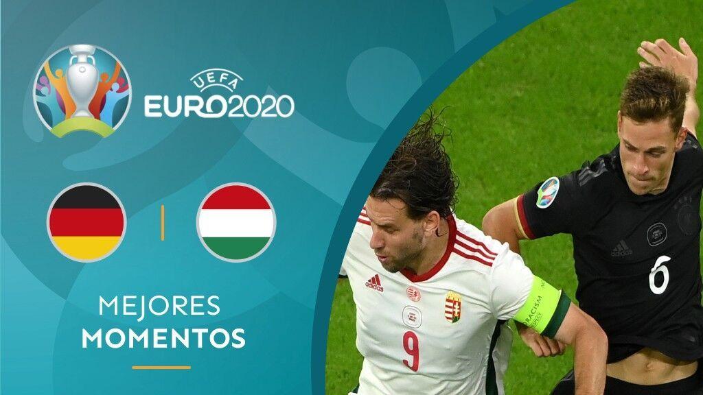 Alemania pasa apuros ante Hungría (2-2), pero se clasifica para los octavos de la Eurocopa
