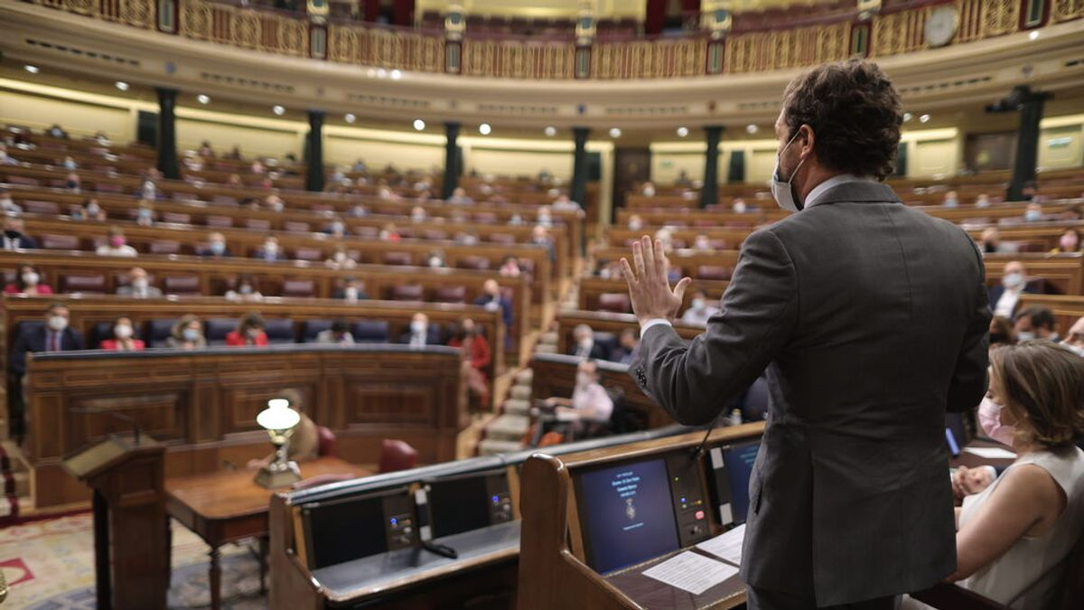 """Casado pide elecciones para zafarse de la nueva """"moción trampa"""" de Vox"""