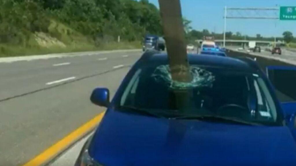Una tabla voladora provoca un accidente en Ohio